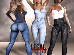 Legal Insanity - Kylie denim jumpsuit (DATRIP Blackbart | LEGAL INSANITY) Tags: slfashion slevents slfair fairsl secondlife eventsecondlife fashionfairsecondlife fashionsecondlife
