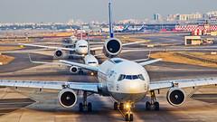 Lufthansa Cargo McDonnell Douglas MD-11F D-ALCA Mumbai (VABB/BOM) (Aiel) Tags: lufthansa lufthansacargo mcdonnelldouglas md11 md11f dalca mumbai canon60d canon24105f4lis