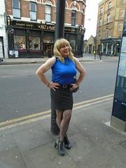 Loitering (rachel cole 121) Tags: tv transvestite transgendered tgirl crossdresser cd