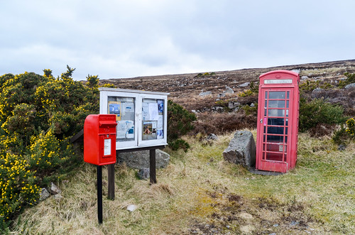 Phone Booth along Loch Eriboll