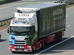 Malbart, Malcolm Logistics & Eddie Stobart  Cancer Charity Scania  (Tish Yuill) (Gary Chatterton 4 million Views) Tags: malbart malcolmlogistics eddiestobart scania charity cancerresearch truck wagon lorry malcolmgroup stobartgroup transport haulage tishyuill l001 photography amateur flickrtrucks flickr canonpowershot canoncamera highshutterspeed
