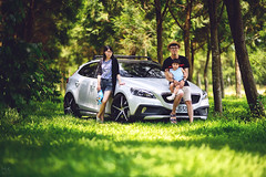 綠蔭 (M.K. Design) Tags: taiwan volvo cars moment life travel family baby girl bokeh nikon 105mmf14e green children tree modified hatchback v40 v40crosscountry crossover apracing kw stance erst portrait nature landscape scenery art 台灣 madebysweden 富豪 瑞典國寶 掀背車 生活 旅行 家庭 親子 散步 淺景深 散景 定焦鏡 壓縮 改裝 卡鉗 客製 radical 綠 遛小孩 尼康 人像 自然 跨界