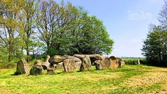 Dolmen / Hunebed D50 - Noord-Sleen, Drenthe, Netherlands - 1173 (HereIsTom) Tags: webshots travel europe netherlands holland dutch view nederland views you sony cybershot hx9v nature sun tourists cycle vakantie fietsvakantie cycling holiday bike bicycle fietsen hunebed stonehenge keien old d50 stenen stones big prehistoric dolmens pyramids dolmen megalithes history hunebedden megalieten monument drenthe graven sleen trechterbeker noord noordsleen steentijd stonegraves graf huge age ice boulder 2018 20 mei may ngc megaliths site graves grafen landscape
