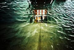 Lomo – water way (lomomowlem) Tags: 35mm analogue crossprocess colourstreambrighton doubleexposure dark expiredfilm kodakelitechrome lomo lomography lofi lca multipleexposure mxbutton tunnel water xpro xprocess ripples
