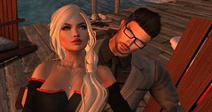 Snuggles at Sunset (savrainsings) Tags: scandalize catwa truth letre