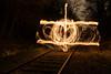 plane (Rudy Pilarski) Tags: plane avion nikon nuit night d7100 tamron 2470 line light lumière feu fire paris europe europa capitale france trees arbre longuepose abstract abstrait ray