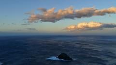 Wolken im letzten Licht (marionkaminski) Tags: teneriffa spanien espana espagne kanaren canaris kanarischeninseln islascanaris isla wolken clouds nubes nuages sunset puertedelsol coucherdusoleil sky panasonic lumixfz1000