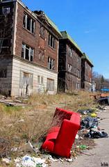 Used Furniture (Thom Sheridan) Tags: thomsheridan east cleveland ohio abandoned urban blight city 2018