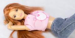 (LegionCub) Tags: barbie carebears madetomove mtm ginger freckles redhair cheerbear grumpybear tenderheartbear midge mattel fashion doll