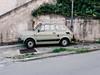 Ton in Ton. (frollein2007) Tags: cefalu italien madonie sicilia sizilien fiat grün beige khaki schüchtern