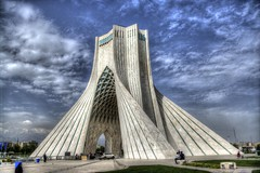 Azadi Tower (mesutsuat) Tags: azadi tower monument iran tehran tahran centrum persia pentax k20d hdr city architecture