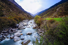 Colors In Valley of Supin (_Amritash_) Tags: puanigaraat colorsinvalleyofsupin colorful landscape landscapes river riverside boulders himalayas himalayanlandscape spring uttarakhand longexposure cloudy harkiduntrek april2018 weather