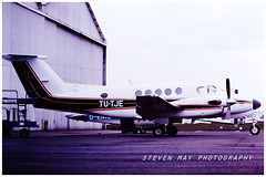TU-TJE Beech 200 Super King Air (SPRedSteve) Tags: tutje beech beechcraft 200 super king air paris lbg 1981 bb163 b200