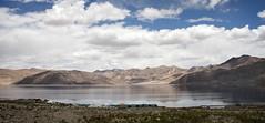 Tent settlement (bag_lady) Tags: pangonglake ladakh india jammuandkashmir lake water tents settlement tentsettlement tourism