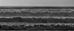 20180502_9309_7D2-200 Waves (monochrome) (johnstewartnz) Tags: canon7dmarkii canonapsc canoneos7dmkii 70200 70200mm 7d 7dmarkii 7d2 apsc canon eos