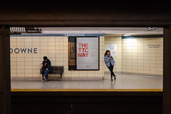 The TTC Way (cookedphotos) Tags: 2018inpictures toronto ontario canada ca lansdowne ttc subway station platform thettcway typography sign advertisement girl leaning waiting bored commute commuter 365project p3652018 streetphotography