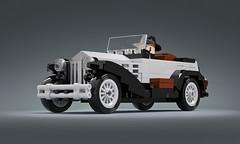 Lancia Lambda (looooookl) Tags: lego moc speedchampions car vehicle retro old