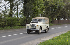 204 UXB  1961  Land Rover  A50  Cranage (wheelsnwings2007/Mike) Tags: 204 uxb 1961 land rover a50 cranage cheshire road run 2018