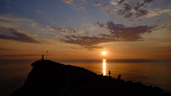 _TAG4136_v1 (thiger_fr2000) Tags: paysage sea clouds sunrise sun soleillevant soleil mer pecheur fisherman