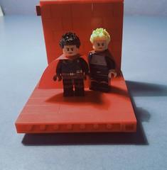 EWSG Superboy and Supergirl ({Toxic}) Tags: superman super supergirl superboy dc dccomics lego figbarf ewsg elseworld figure hero