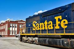Marceline Mo (Machme92) Tags: bnsf burligrton oldschool santafe american atsf missouri staion railroad railfanning railroads railfans rails rail