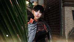 (@teayou) Tags: sl secondlife teayou female maitreya hair beusy k9 kustom9 amitomo denim jacket rebelgal dress backdrop decor pseudo poses rkposes