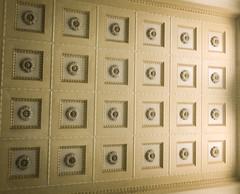 Ceiling Pattern (Mule67) Tags: ceiling union station portland pdx oregon train pattern