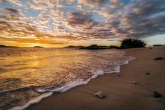 Modriki Morning (scotty-70) Tags: lenstagger sunrise cloud water fiji island castaway laowa lumix beach goldenhour reflection