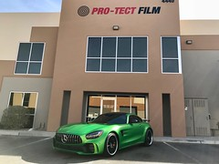 Mercedes AMG GTR Full Stealth Wrap