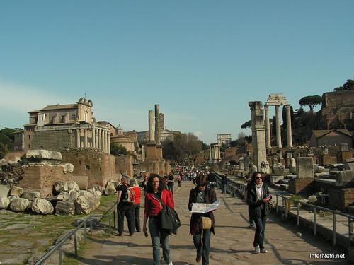 Римський форум, Рим, Італія InterNetri Italy 531