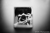 折り畳み鏡 (✱HAL) Tags: om1 ilford xp2super400 film selfy mirror room