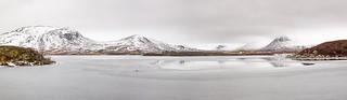 Winter Wonderland, Lochan na-h Achlaise, Rannoch Moor, Scotland