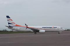 OK-TVV Boeing 737-86N Smartwings (corkspotter / Paul Daly) Tags: oktvv boeing 73786n w b738 38027 4030 l2j cfal 49d287 tvs qs travel service 2012 n1787b 20120510 ork eick cork jetliner airplane