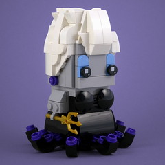 BrickHeadz: Ursula (Swan Dutchman) Tags: lego brickheadz disney thelittlemermaid kleinezeemeermin ursula
