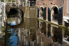 Reflections in Delft (Ciao Anita!) Tags: delft zuidholland nederland netherlands olanda gracht canal canale weerspiegeling reflections riflessi brug bridge ponte theperfectphotographer friends