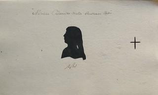 Silhouet af Nikoline Frederikke Mette Christiane Worsøe