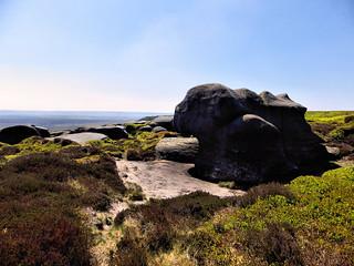 Westend Moor and Bleaklow Stones