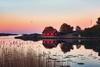 Hasla (Øyvind Bjerkholt (Thanks for 55 million+ views)) Tags: landscape waterscape scenery coastline sørlandet fevik grimstad norway beautiful sunsetlight canon reflections