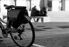 (Davide Zappettini) Tags: people street city urban bicycle blackandwhite bw bianconero ilford davidezappettiniphotography filmphotography