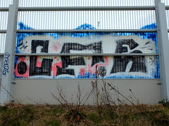 Graffiti A20 (oerendhard1) Tags: graffiti streetart urban art vandalism illegal throw ups tags rotterdam oerendhard a20 cfe