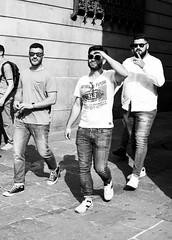 Boys on Tour (sawyersource) Tags: blackandwhite blackandwhitephotography bnw bnwstreet bnwphotography bw people boysontour men street streetphotography streetlife d7200 35mmlens nikon nikkor barcelona spain catalunya catalonia españa