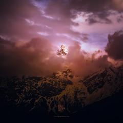 Unveiled (Motographer) Tags: mountain himalayas himachal himachalpradesh northindia kinnaur peak closeup clouds cloudscape cloudy mtraldang raldang kalpa rekongpeo sunset twilight evening rain cold summer spring olympus omd em1 mzuiko 1240mmf28pro landscape