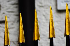 Up (PinoyFri) Tags: metall spitzen punto point 點 ポイント 포인트 punt ponto จุด geschmiedet forged falsificado forjado dövme làmgiả dövülmüş tamron tamron70300 nikond3400 zaun fence valla cerca 籬笆 울타리 hàngrào golden