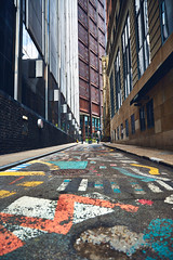 Strawberry Way (benpsut) Tags: pittsburgh strawberry way alley graffiti paint road street art architecture photography vertical