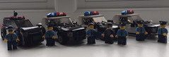 The New Force (Robbie .L) Tags: police lego crown victoria emergency services ford explorer utility lapd car truck