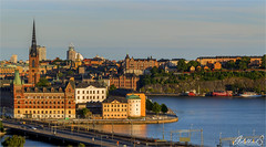 Stockholm Summer View (AdelheidS Photography) Tags: adelheidsphotography adelheidsmitt adelheidspictures architecture cityscape city scandinavia sweden sverige svezia zweden scenic schweden stockholm stad riddarholmen lakemälaren view