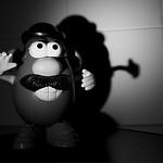 Mr Potato Head caught in the spotlight