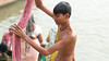 Bath-25.jpg (Karl Becker Photography) Tags: india varanasi ganges river nikon bath youngman boy man shirtless