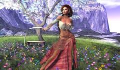 ... Im like a bird, .... (Alea Lamont) Tags: ndmd ethnic skins catwa lilly bento head maitreya lara mesh body vanity hair addams
