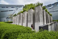 memorial juif Berlin (fred9210) Tags: hommage vert monument